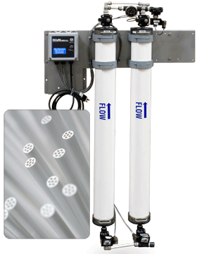 Wall Mount Hollow Fiber UF Systems