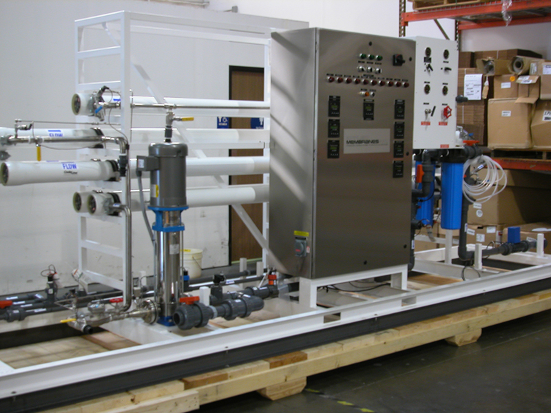 Water Treatment Pilot Plant System Application Testing