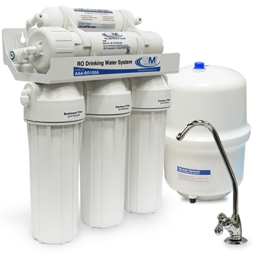 AMI 5 Stage Point of Use RO Water Filtration Systems