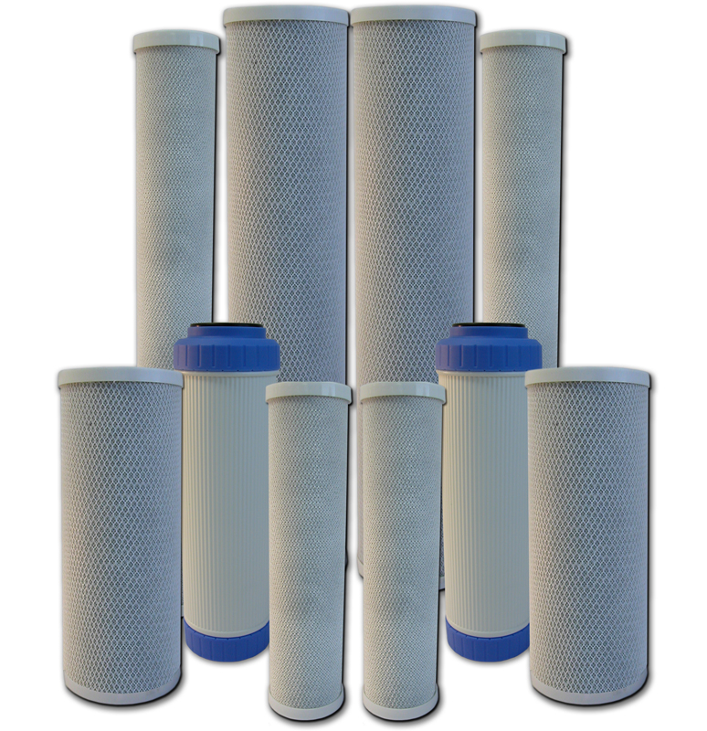AMI Extruded Activated Carbon & GAC Filter Cartridges
