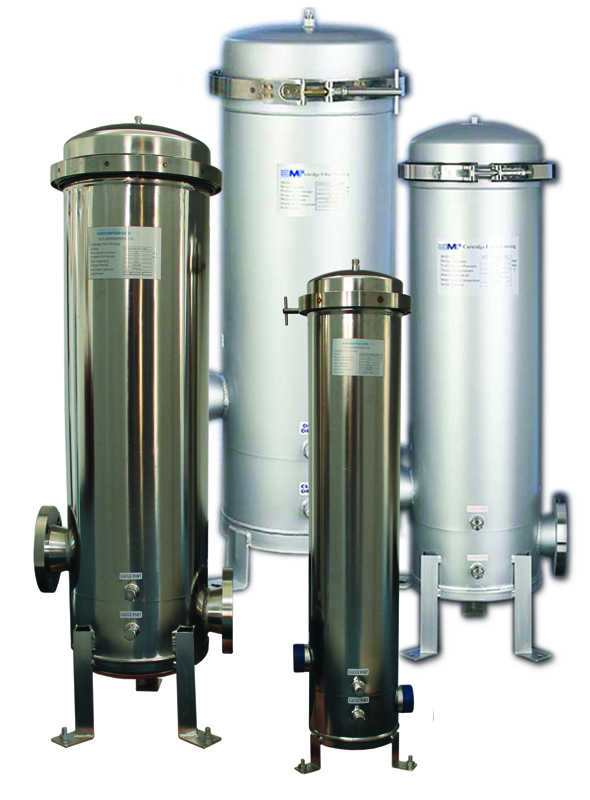 Multi Cartridge Filter Housings Commercial Stainless