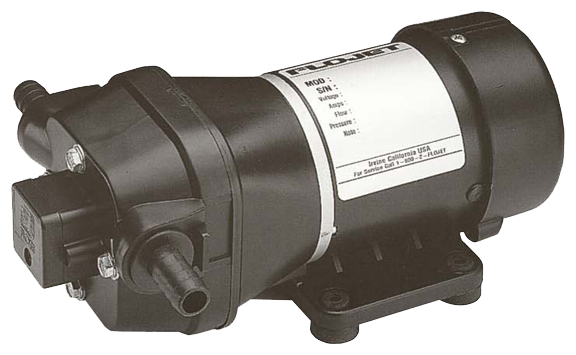 Flojet Dispensing Pumps Standard Quad AC Pump