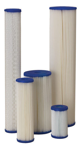Pentek Pleated Reusable Sediment Filters - R Series (Ametek)