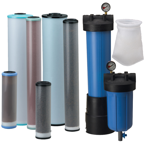 Pentek Specialty Filter Cartridges & Bag Filters - RFFE, PCF, WS, & BP Series (Ametek)