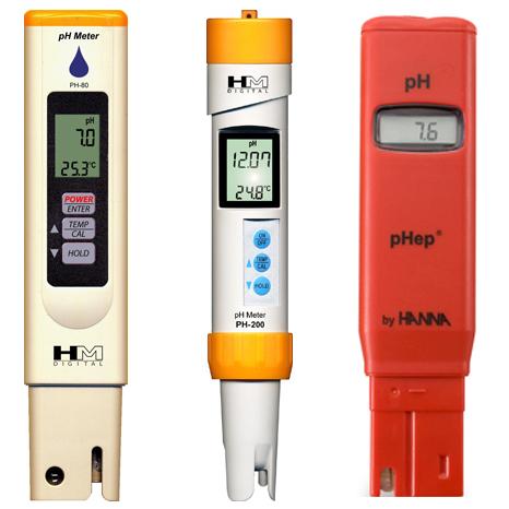 Pocket pH Meters