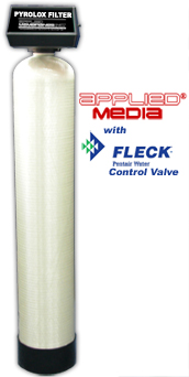 Pyrolox Filters for Iron, Sulfur & Manganese Reduction with Fleck Control Valves