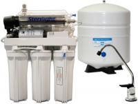 AMI 6 Stage Home RO with UV Disinfection and Booster Pump Water Filtration Systems