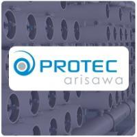 "Protec 2.5"" Diameter Fiberglass SWRO Pressure Vessels"