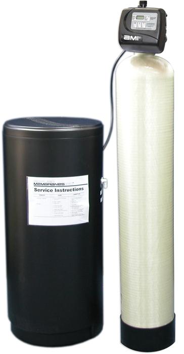 Metered Valves Single Water Softeners