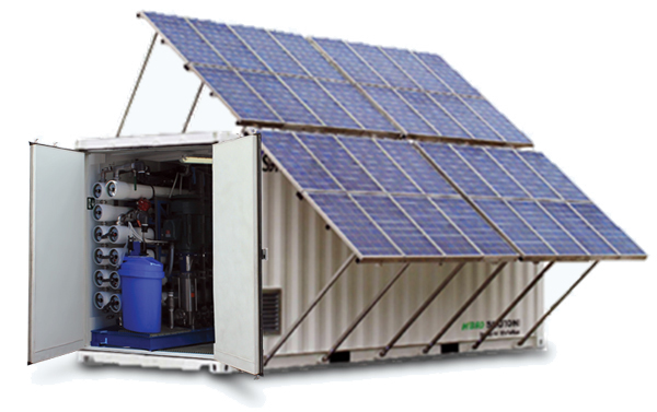 Solar Powered UF and RO Water Treatment Systems