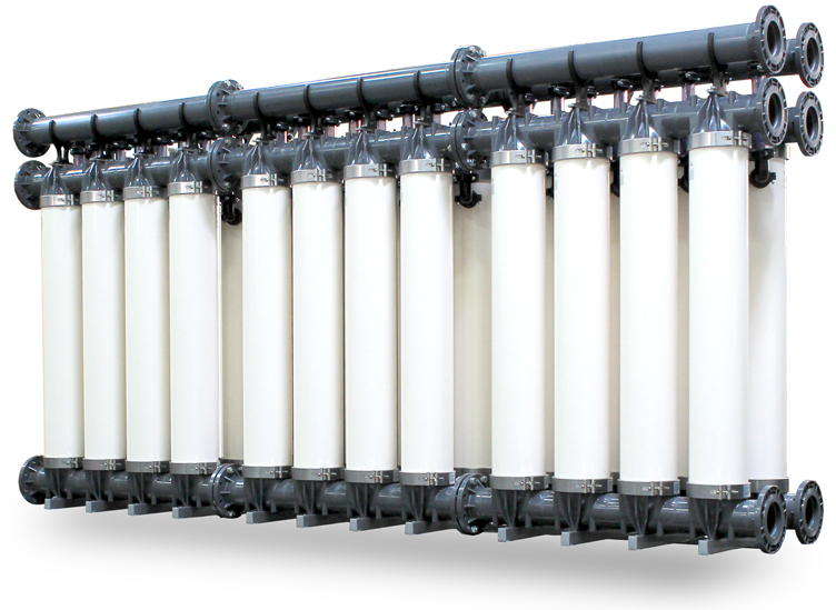 Ultrafiltration Systems with Hollow-Fiber UF Membranes