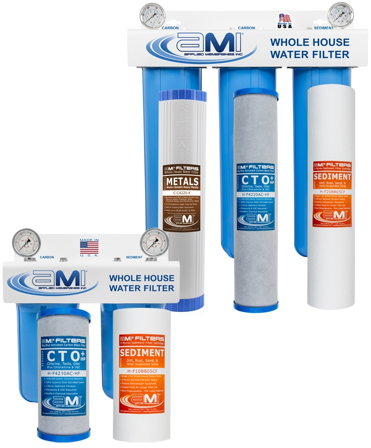 AMI Whole House Point of Entry (POE) Water Filter Systems