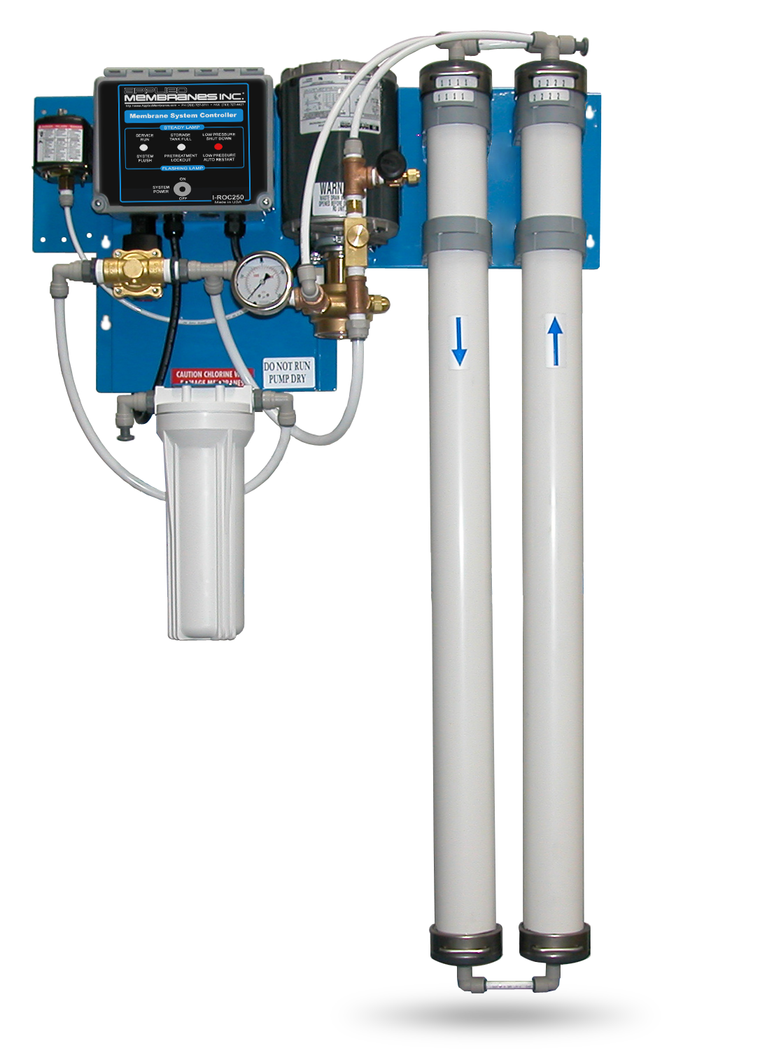 WM Series Wall Mount RO Systems