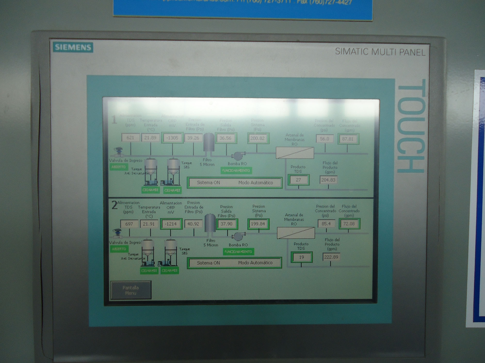 RO System for Boiler Feed Water for Food Processing | Applied ...