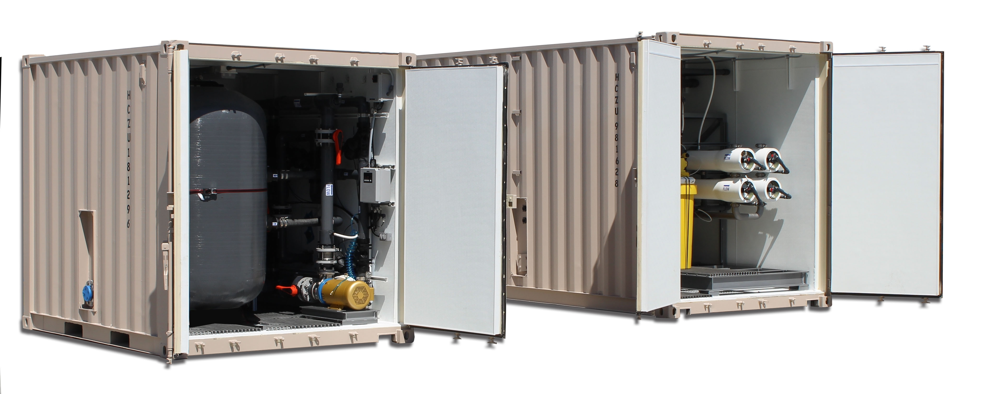 Mobile Water Treatment Systems for Disaster Relief or Remote