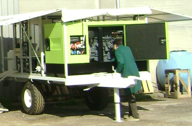 Trailer-Mounted Seawater ROWPU Systems for UN Military Disaster Relief