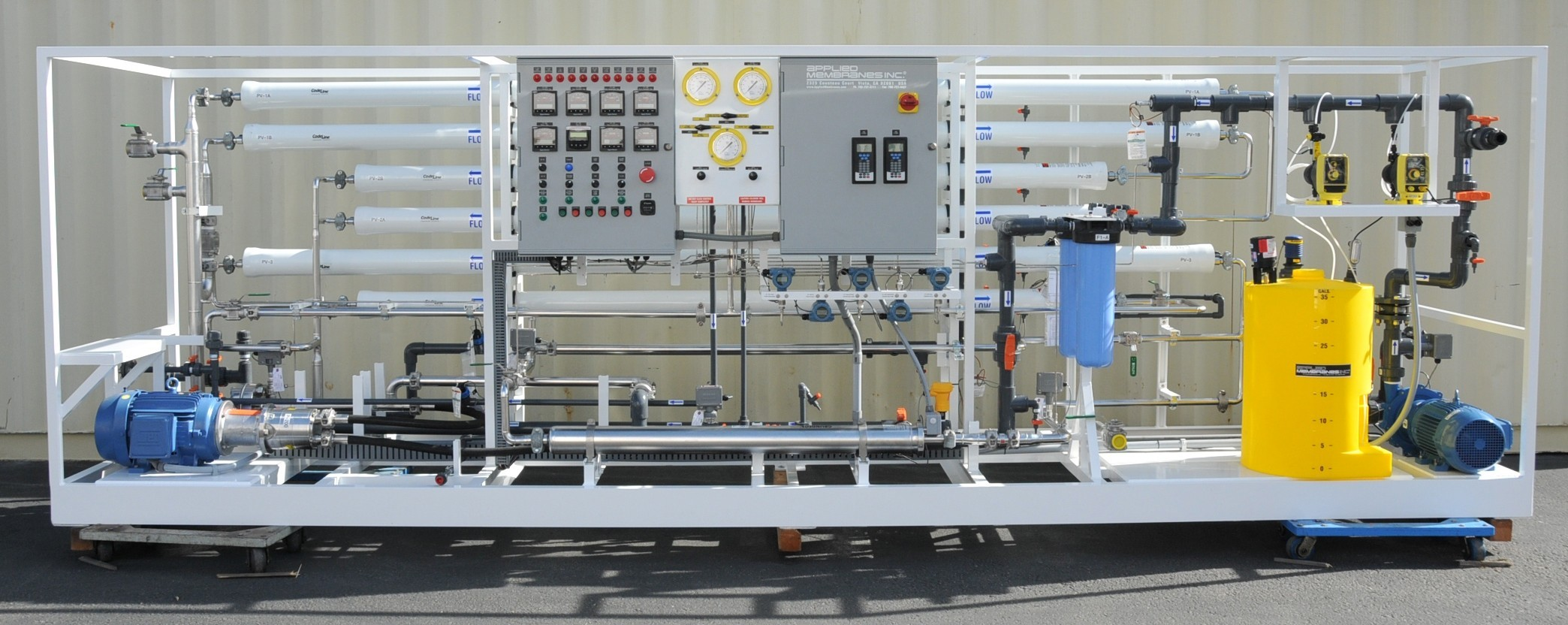 SWRO System for Desalination Pilot Testing