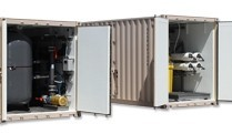 Containerized Seawater Desalination Systems for Potable Water