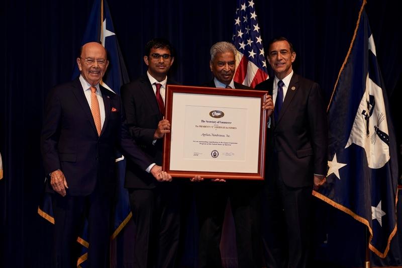 Applied Membranes Wins President's E-Award
