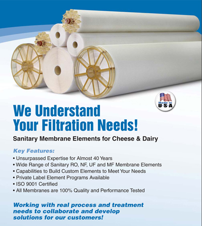 Applied Membranes Expands in the U.S. Dairy Sector