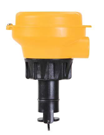 Signet 2537 Paddlewheel Blind Flow Sensor