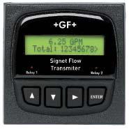 Signet 8850 Panel Mount Flow Transmitter