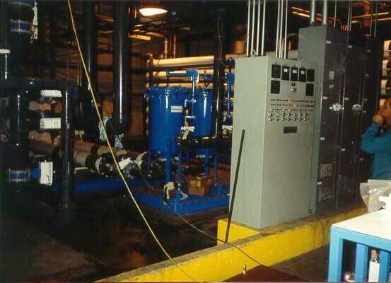 General Motors 250 GPM RO System by Applied Membranes, Inc.