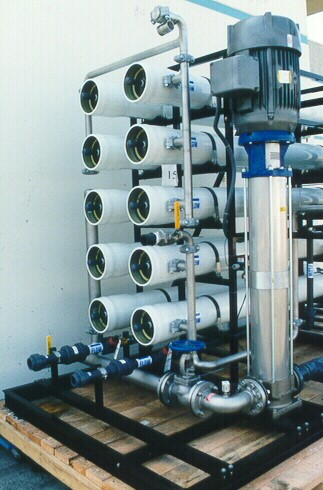 Hua Yue Microelectronics Rinse Water RO System by Applied Membranes, Inc.