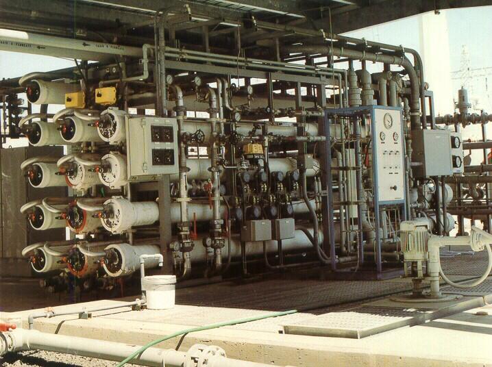 SDG&E Boiler Feed Water for Power Generation RO System