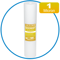 1 Micron Ultra-Fine Sediment Filter for Whole House Water Filtration