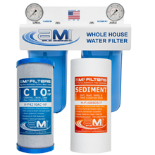 Whole House Water Filter for Chlorine, Chloramine, Taste Odor and Sediment