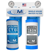 Whole House Water Filter for Iron and Manganese Filtration