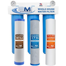 Whole House Water Filter for Heavy Metals Removal