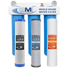 Whole House Water Filter to Remove Lead