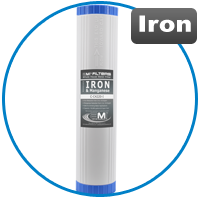 Whole House Water Filter to Remove Iron and Manganese
