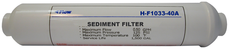 AMI In-Line Sediment Filters