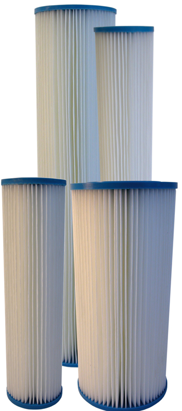 AMI Pleated Cellulose Poly Sediment Filter Cartridges