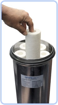 Filter Cartridges Inside Band Clamp Liquid Vessel Housing