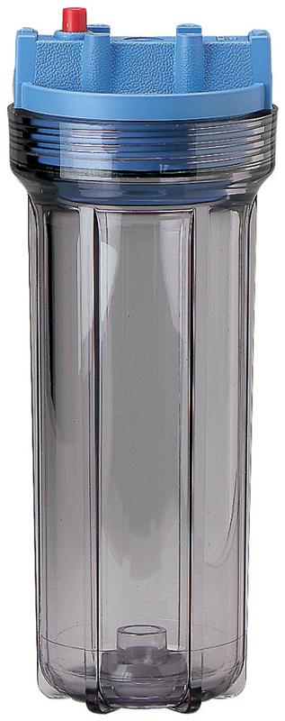 10 Slim Line Clear Pentek Filter Housing