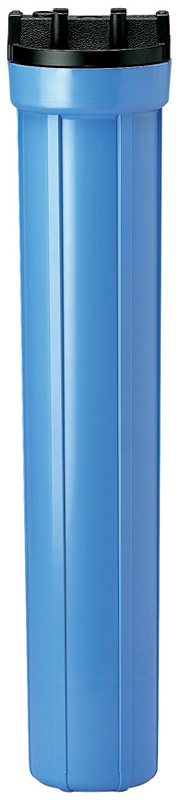 20 Slim Line Blue Pentek Filter Housing