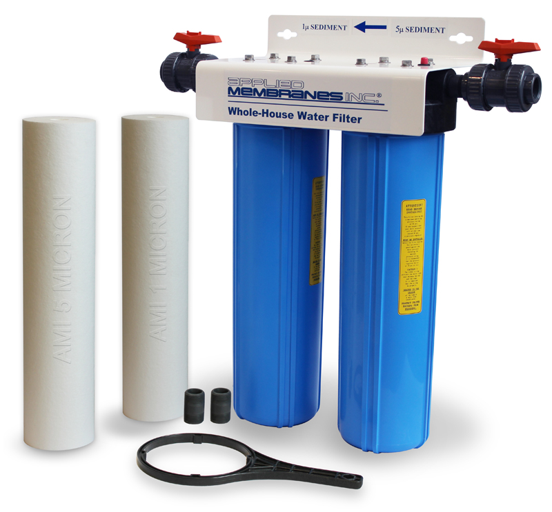 2 Stage 20in Sediment Filter Whole-House Water Filter