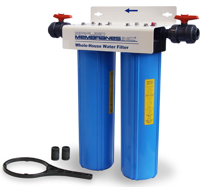 2 Stage 20in Customizable Whole-House Water Filter