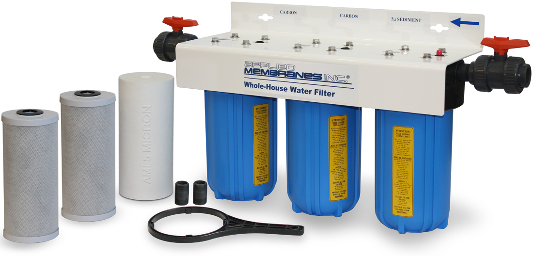 3 Stage 10in Sediment Filter Whole-House Water Filter