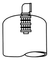 Diffuser for Media Filtration Tank
