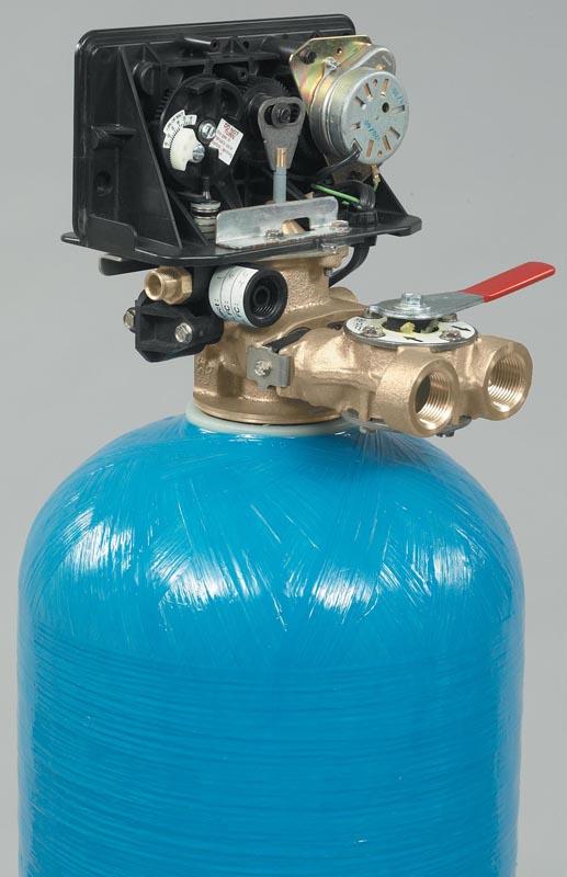Fleck 4650 Hot Water Control Valve Back