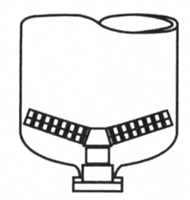 Hub and Lateral for Media Filtration Tank