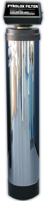 Pyrolox Backwash Iron Filter with Optional SS Jacket