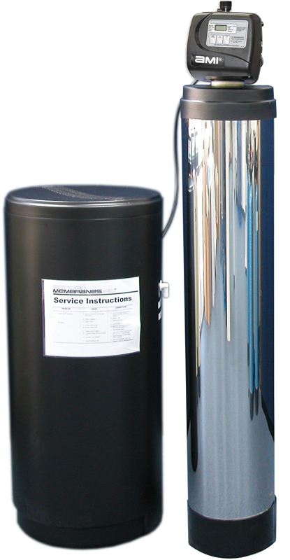 Water Softener with Optional SS Jacket