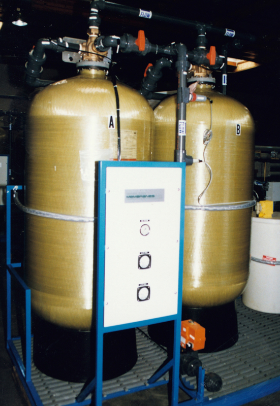 Skid Mounted Commercial Water Softener