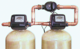 Twin Alternating Softener Configuration